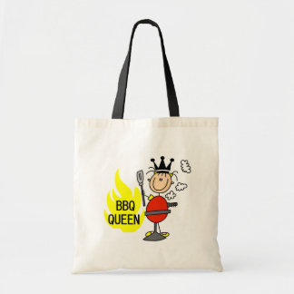 Queen of Barbequeing Canvas Bags