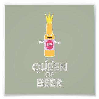 Queen of Beer Zh80k Photo Print