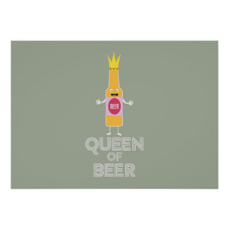 Queen of Beer Zh80k Poster