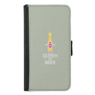 Queen of Beer Zh80k Samsung Galaxy S5 Wallet Case