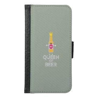 Queen of Beer Zh80k Samsung Galaxy S6 Wallet Case