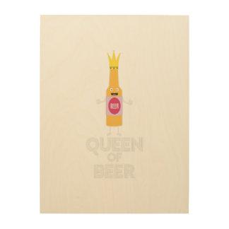 Queen of Beer Zh80k Wood Wall Art