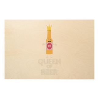 Queen of Beer Zh80k Wood Wall Decor