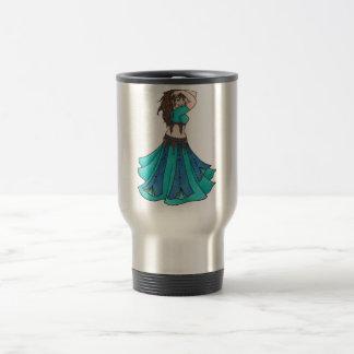Queen of Beledi Belly Dancer Travel Mug