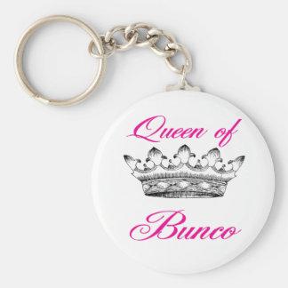 queen of bunco key ring
