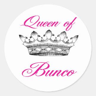 queen of bunco sticker