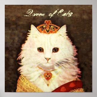 Queen of Cats Poster