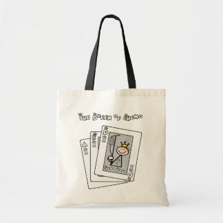 Queen of Chemo Budget Tote Bag