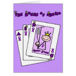 Queen of Chemo Hodgkins Lymphoma Greeting Card