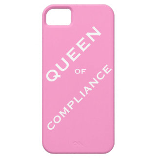 Queen of Compliance Woman Compliance Officer Barely There iPhone 5 Case