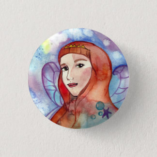 Queen Of Cups Button