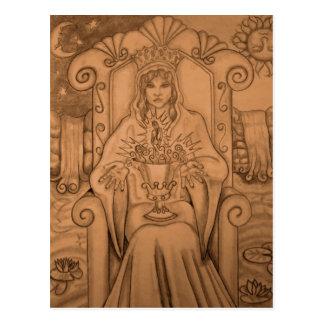 Queen Of Cups - Tarot Card