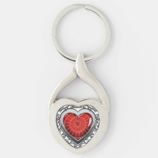Queen Of Darts Key Ring