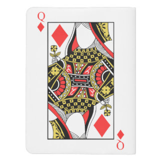 Queen of Diamonds - Add Your Image Extra Large Moleskine Notebook