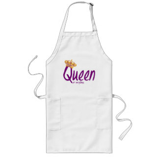 Queen of Everything [apron] Long Apron