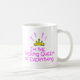 Queen of Everything Crown Coffee Mug