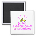 Queen of Everything Crown Magnet