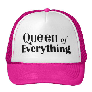 Queen of Everything Girly Cap