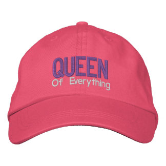 Queen of Everything Personalized Adjustable Hat