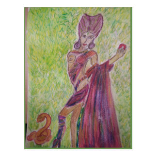 queen of heart postcard