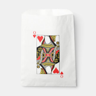 Queen of Hearts - Add Your Image Favour Bags