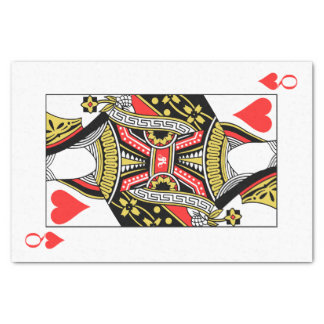 Queen of Hearts - Add Your Image Tissue Paper