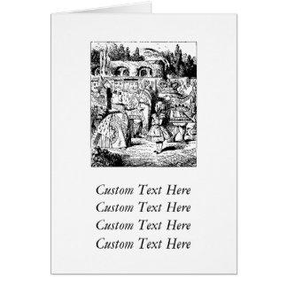 Queen of Hearts (Alice's Adventures in Wonderland) Greeting Cards