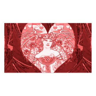 Queen of Hearts Business Card Templates