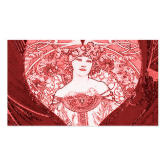 Queen of Hearts Business Cards