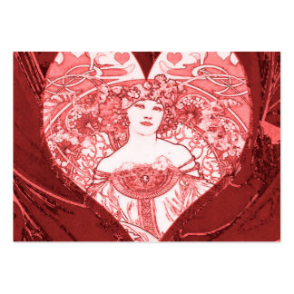Queen of Hearts Business Card Template