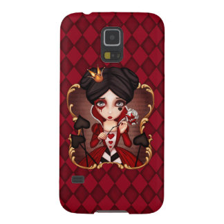 Queen Of Hearts Case For Galaxy S5