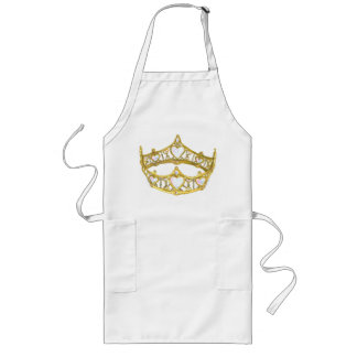Queen of Hearts crown long apron