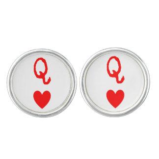 Queen of Hearts Cufflinks