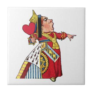 Queen of Hearts from Alice in Wonderland Tile