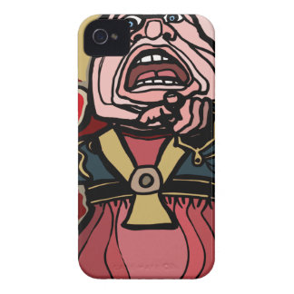 Queen of Hearts iPhone 4 Case
