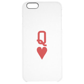 Queen of Hearts iPhone 6/6S Plus Clear Case