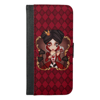 Queen Of Hearts iPhone 6/6s Plus Wallet Case