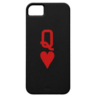 Queen of Hearts iPhone SE/5/5S Barely There Case