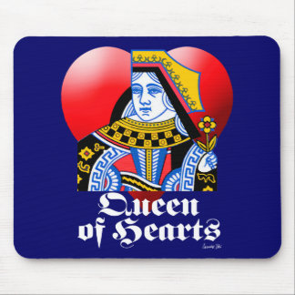 QUEEN OF HEARTS MOUSE PAD