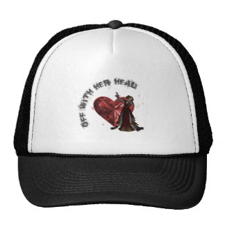 Queen Of Hearts - Off With Her Head Mesh Hats