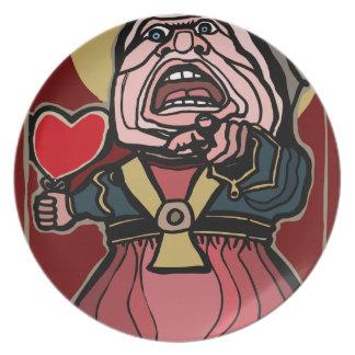 Queen of Hearts Plate