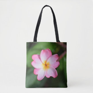 Queen of Hearts Plumeria Tote