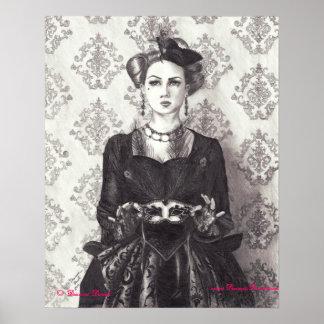Queen of Hearts Poster Queen of Hearts Art