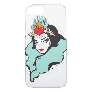 Queen of Hearts Series: Queen 1 iPhone 8/7 Case