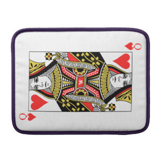 Queen of Hearts Sleeve For MacBook Air
