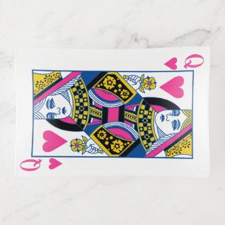 Queen of Hearts Trinket Trays