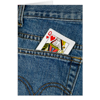 Queen of Hearts Valentine Card
