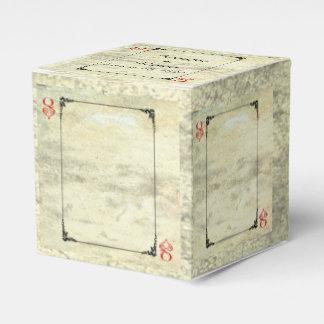 Queen of Hearts Wedding Favor Box Favour Box