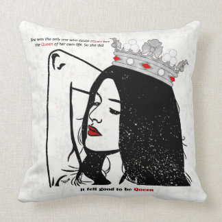 Queen Of Her Own Life Cushion