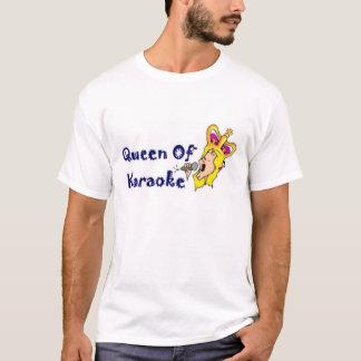 Queen Of Karaoke T-Shirt